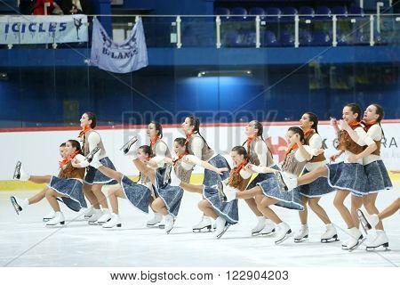Team Spain Performing