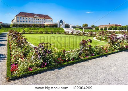 Palace Hof with garden, Lower Austria, Austria