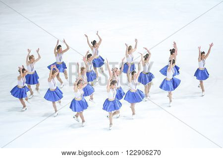 Team Zagreb Snowflakes Senior Dancing