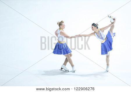 Team Zagreb Snowflakes Senior Duet