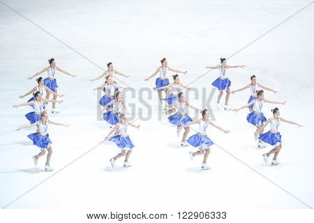 Team Zagreb Snowflakes Senior Perform