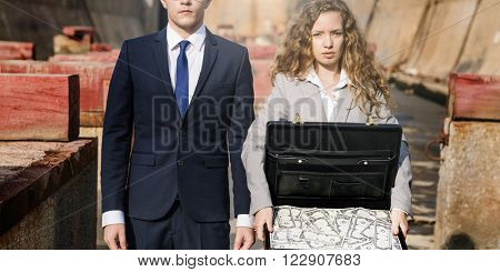 Business People Finance Investment Money Stress Concept
