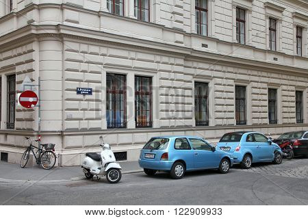Cars Parked In Vienna