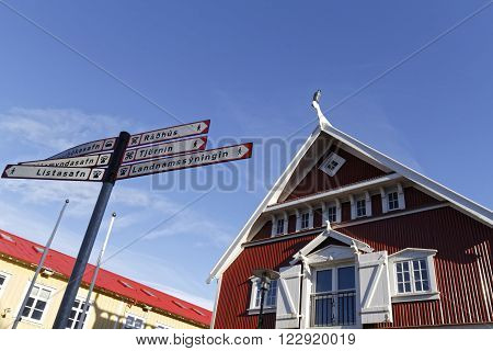 Reykjavik, Iceland, March 8, 2016 : Reykjavik Is The World's Northernmost Capital Of A Sovereign Sta