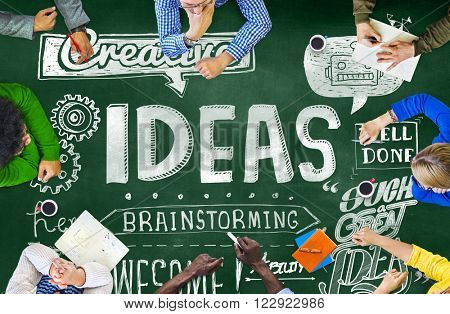 Ideas Creative Brainstorming Ability Thinking Concept
