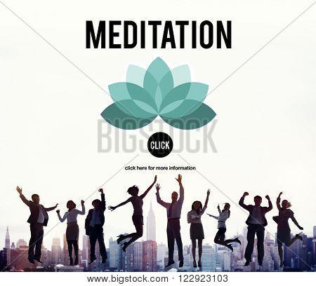 Meditation Mediate Deal Agreement Concept
