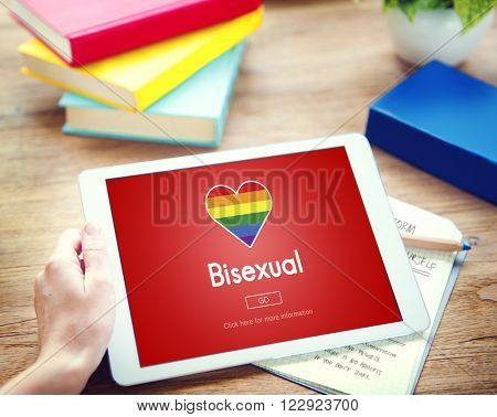 Transgender Bisexual Homosexual Personal Right Concept