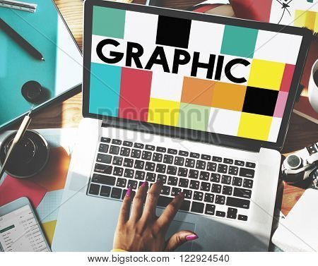 Graphic Creative Design Visual Art Concept