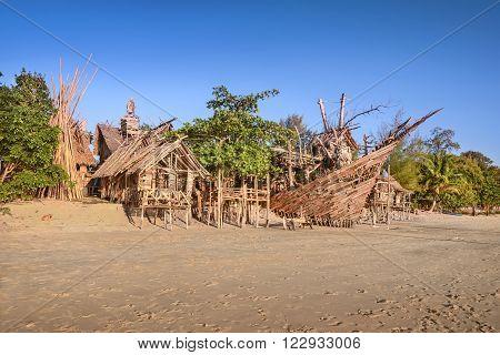 tree house bar on the beach in Thailand