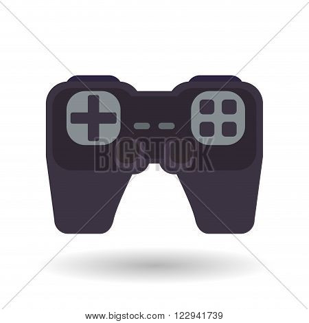 Videogame concept with icon design, vector illustration 10 eps graphic.