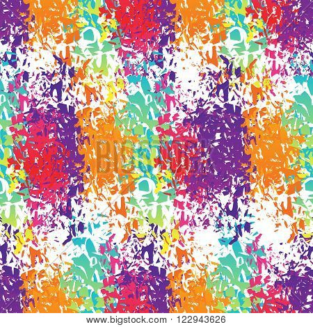 Holi Celebration. Holi Ornament Background. Holi Colour Stains. Holi Seamless Pattern. Holi Indian F