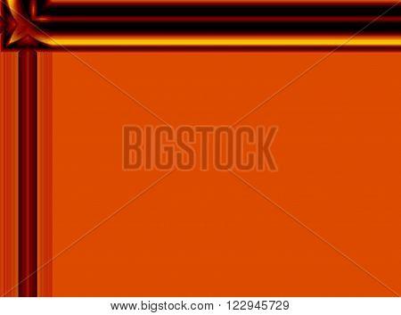 brown and gold tone design with unique design edges