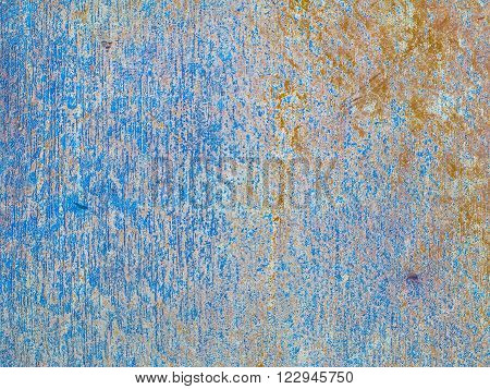 Colorful blurred abstract background , (abstract from rust colored background blur)