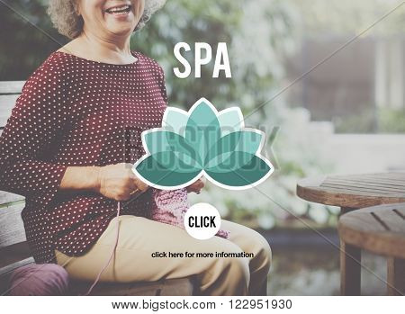 Spa Aroma Beauty Relaxation Therapy Treatment Concept