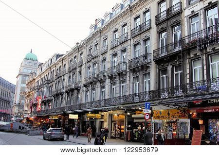 Walking Through The Streets Of Brussels, Belgium