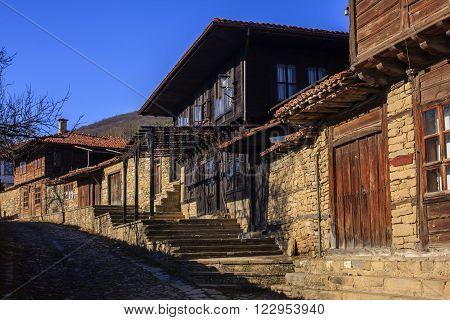 Old house in the village of Zheravna, Bulgaria