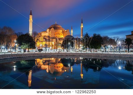 Hagia Sophia. Istanbul - Turkey's largest city, a major commercial, industrial and cultural center, the main port of the country.