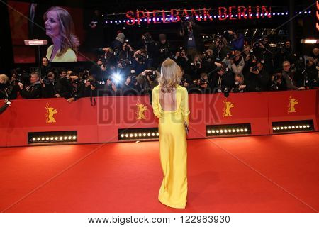 Magdalena Cielecka attends the closing ceremony of the 66th Berlinale International Film Festival on February 20, 2016 in Berlin, Germany.