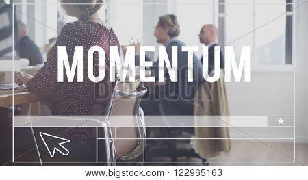 Momentum Motion Impetus Velocity Concept