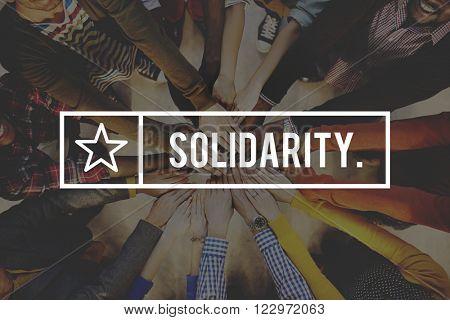 Solidarity Achievement Connection Participate Concept