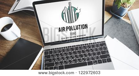 Air Pollution Carbon Dioxide Dirty Energy Toxic Concept