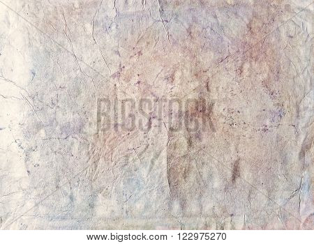 Stains and Wrinkles, Creative Vintage Paper Background