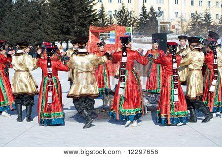 Round Dance At Shrovetide