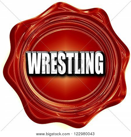 wrestling sign background with some soft smooth lines