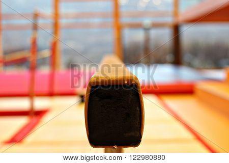Gymnastic equipment from the Faroese gymnastic club Stokk