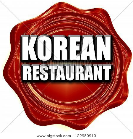 Delicious korean cuisine with some smooth lines