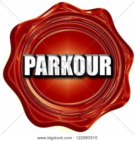 parkour sign background with some soft smooth lines