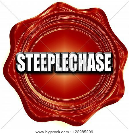 Steeplechase sign background with some soft smooth lines