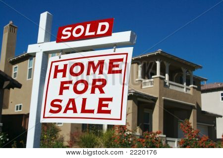 Sold - Home For Sale Sign