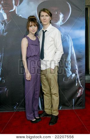 SAN DIEGO, CA - JULY 23: Paul Dano and Zoe Kazan arrives at the world premiere of