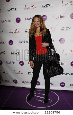 LOS ANGELES, CA - MAR 3: Natasha Alam at the launch party for 'FabFitFun' hosted by Giuliana Rancic at The Redbury in Los Angeles, California on March 3, 2011