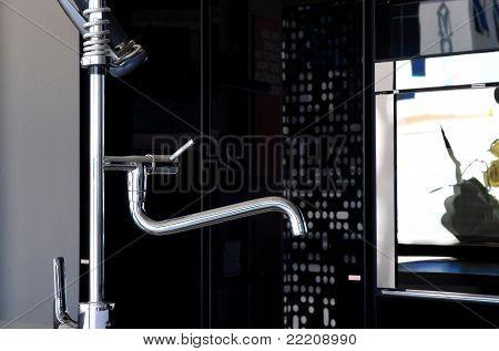 Faucet Close Up