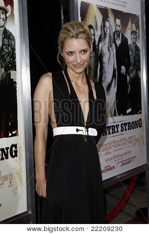 BEVERLY HILLS, CA - DEC 14: Shana Feste at the LA Special Screening of 'Country Strong' held at the Academy of Motion Picture Arts & Sciences in Beverly Hills, California on December 14, 2010