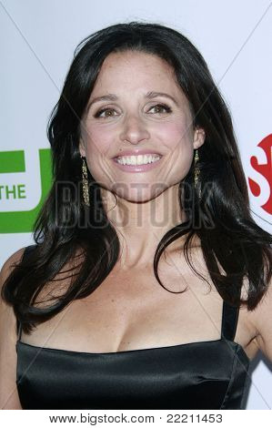 LOS ANGELES, CA - JUL 18: Julia Louis-Dreyfus at the CBS CW Showtime Press Tour Stars party in Los Angeles, California on July 18, 2008