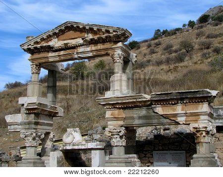 Fountain of Trajan - Ephesus