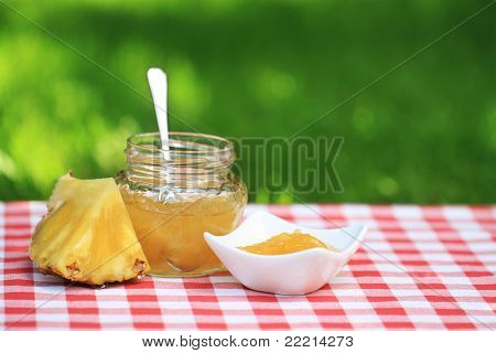 Geléia de abacaxi