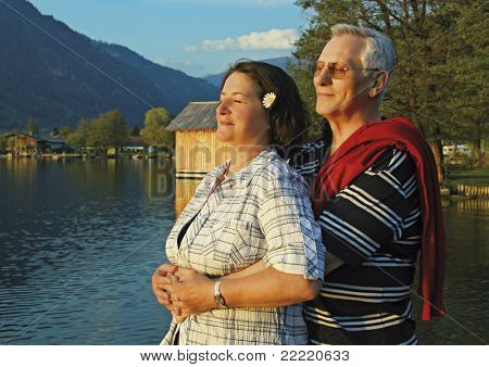 Attractive married mature couple enjoying togetherness. keyword for this collection is