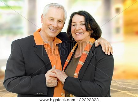 senior-couple in love