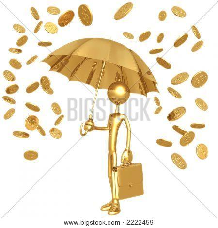 Raining Gold Coins