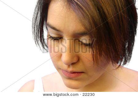 Girl Making Up 6
