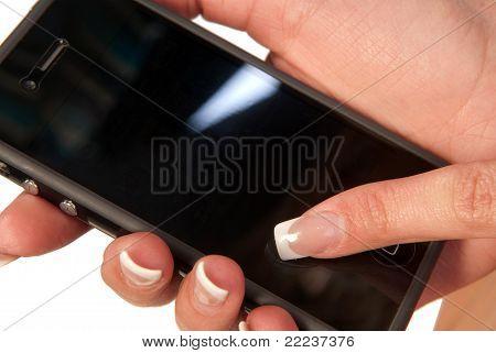 Pantalla de teléfono móvil