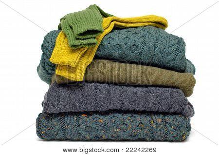 Irish wool winter cable knits & socks