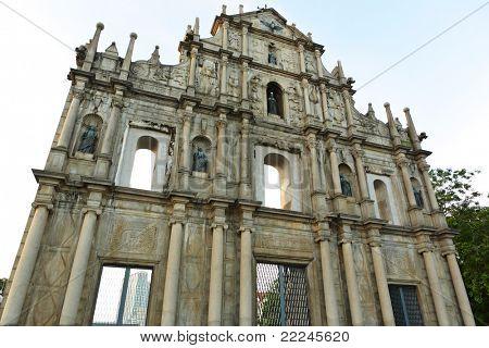 Saint Paul church in Macau