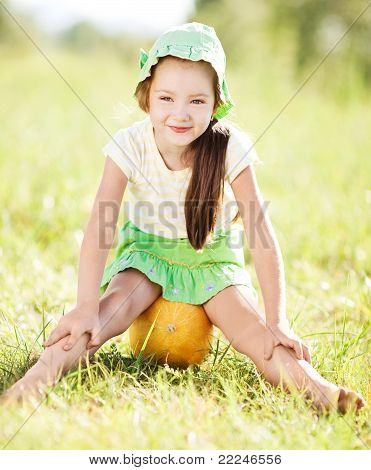 Girl With Melon
