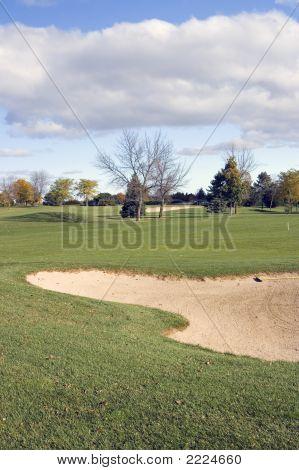 Perigo de Bunker de golfe