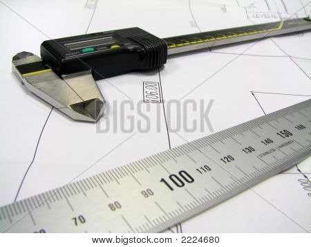 Ruler And Caliper